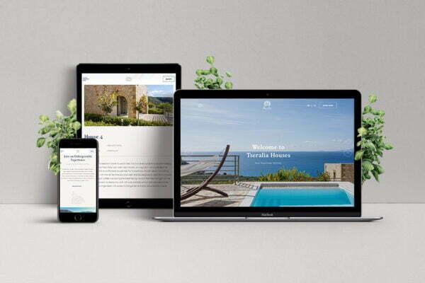 Tseralia Houses - Hotel Web Design & Development